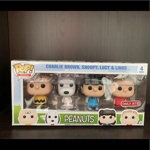 POP! Minis Peanuts 4pack, Target Exclusive
